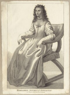 Margaret Cavendish (née Lucas), Duchess of Newcastle upon Tyne, published by John Scott, after  Abraham Diepenbeeck - NPG D30187