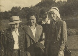 Beatrice Webb with three others, by L. Vulb - NPG P1292(73)