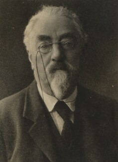 Sidney James Webb, Baron Passfield, by Unknown photographer - NPG P1292(78)