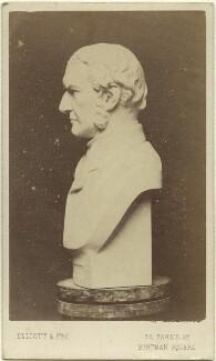 Sculptural bust of William Ewart Gladstone, by Elliott & Fry, after  Unknown sculptor - NPG Ax8536