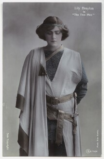 Lily Brayton as Elsa in 'The Two Pins', by Rita Martin, published by  Aristophot Co Ltd - NPG x131453