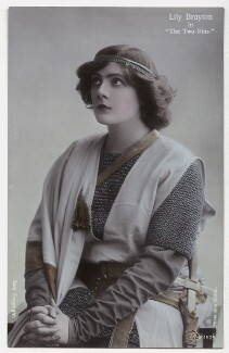 Lily Brayton as Elsa in 'The Two Pins', by Rita Martin, published by  Aristophot Co Ltd - NPG x131454