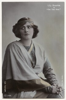 Lily Brayton as Elsa in 'The Two Pins', by Rita Martin, published by  Aristophot Co Ltd - NPG x131455