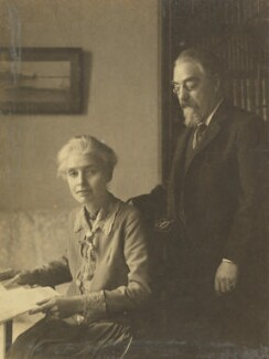 Beatrice Webb; Sidney James Webb, Baron Passfield, probably by Bassano Ltd - NPG P1292(84)
