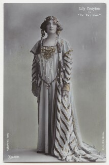 Lily Brayton as Elsa in 'The Two Pins', by Rita Martin, published by  Aristophot Co Ltd - NPG x131457