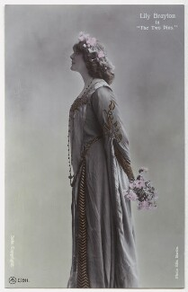 Lily Brayton as Elsa in 'The Two Pins', by Rita Martin, published by  Aristophot Co Ltd - NPG x131458