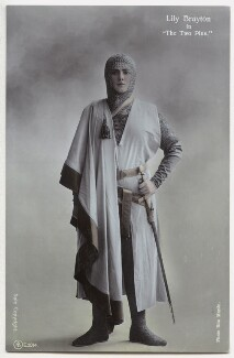 Lily Brayton as Elsa in 'The Two Pins', by Rita Martin, published by  Aristophot Co Ltd - NPG x131461