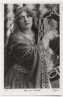 Lily Brayton as Iseult in 'Tristram and Iseult', by Rita Martin, published by  J. Beagles & Co - NPG x131462
