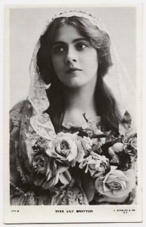 Lily Brayton as Desdemona in 'Othello', by Rita Martin, published by  J. Beagles & Co - NPG x131463