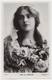Lily Brayton as Desdemona in 'Othello', by Rita Martin, published by  J. Beagles & Co - NPG x131464