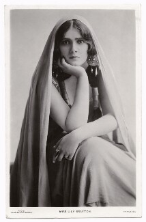 Lily Brayton as Ildico in 'Attila', by Rita Martin, published by  J. Beagles & Co - NPG x131465