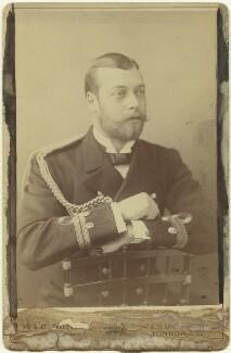 King George V, by W. & D. Downey - NPG x32360