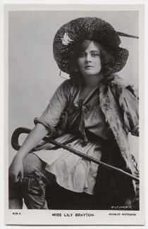 Lily Brayton as Rosalind in 'As You Like It', by Rita Martin, published by  J. Beagles & Co, 1907 - NPG  - © National Portrait Gallery, London