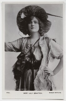 Lily Brayton as Rosalind in 'As You Like It', by Rita Martin, published by  J. Beagles & Co - NPG x131469