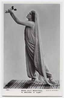 Lily Brayton as Marsinah in 'Kismet', by Rita Martin, published by  J. Beagles & Co - NPG x131471