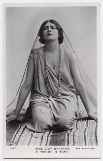 Lily Brayton as Marsinah in 'Kismet', by Rita Martin, published by  J. Beagles & Co - NPG x131472