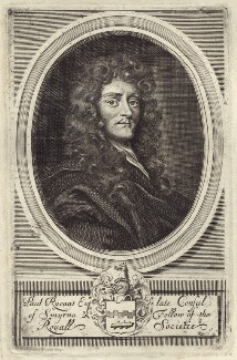 Sir Paul Rycaut, possibly by Robert White, after  Sir Peter Lely - NPG D30204