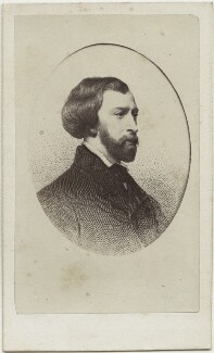 (Louis Charles) Alfred de Musset, after Victor Florence Pollet, after  Charles Landelle - NPG Ax17893