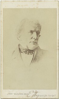 William Etty, by John Watkins, after  Unknown photographer - NPG Ax17253