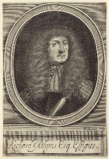 Richard Atkyns, by William Sherwin - NPG D30215
