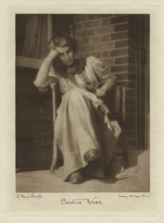 Beatrice Webb, by George Bernard Shaw, copy by  Emery Walker Ltd - NPG x12675