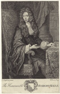 Robert Boyle, by Bernard Baron, after  Johann Kerseboom - NPG D30343