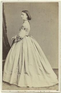 Madeline Hainguerlot (née Jerningham), by Ghémar Frères - NPG Ax46355