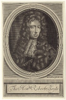 Robert Boyle, by Michael Vandergucht, after  Johann Kerseboom - NPG D30344