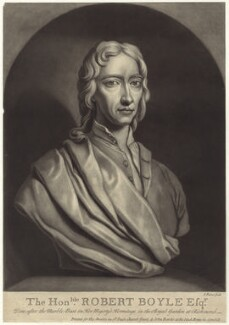 Robert Boyle, by John Faber Jr, published by  Thomas Bowles Sr - NPG D30346
