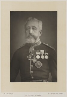 Sir Henry Wylie Norman, by W. & D. Downey, published by  Cassell & Company, Ltd, published 1894 - NPG Ax27900 - © National Portrait Gallery, London