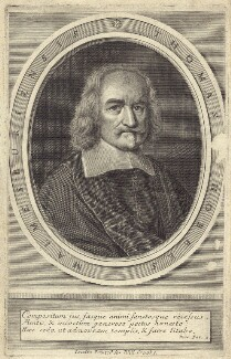Thomas Hobbes, published by William Crooke, after  William Faithorne - NPG D30360