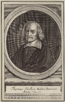 Thomas Hobbes, after William Faithorne - NPG D30362