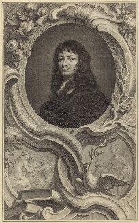 Sir William Temple, Bt, by Jacobus Houbraken, published by  John & Paul Knapton, after  Sir Peter Lely - NPG D30363