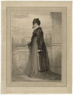 Isabella Caroline Campbell (née Howard), Lady Cawdor of Castlemartin, by Luigi Schiavonetti, after  Henry Edridge - NPG D32791