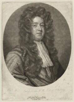 Robert Cecil, by John Smith, after  Sir Godfrey Kneller, Bt - NPG D32805