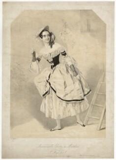 Madame Céleste (Céline Céleste) as Madeline in 'St Mary's Eve', by Maxim Gauci, after  Alfred Edward Chalon - NPG D32806