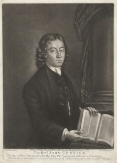 John Cennick, by Philip Dawe, after  A.L. Brandt - NPG D32807