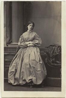 Frances Julia Graver-Browne (née Stracey), by Camille Silvy - NPG Ax46314