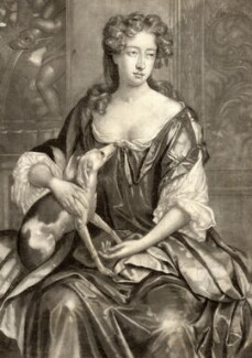 Joan Soame (née Shute), by Isaac Beckett, after  Sir Godfrey Kneller, Bt - NPG D9185