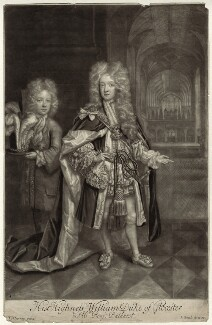 Benjamin Bathurst; William, Duke of Gloucester, by and published by John Smith, after  Thomas Murray - NPG D32802