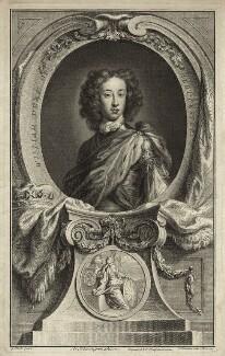 William, Duke of Gloucester, by Jacobus Houbraken, published by  John & Paul Knapton, after  Sir Godfrey Kneller, Bt - NPG D32803