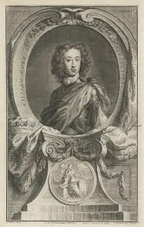 William, Duke of Gloucester, by Jacobus Houbraken, published by  John & Paul Knapton, after  Sir Godfrey Kneller, Bt - NPG D32804