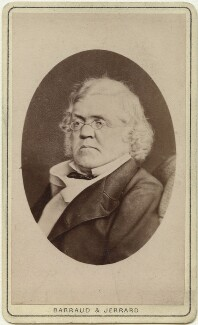 William Makepeace Thackeray, by Barraud & Jerrard, after  Ernest Edwards - NPG Ax28572
