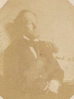 Swynfen Stevens Jervis, by Unknown photographer, mid 1850s - NPG P1273(28a) - © National Portrait Gallery, London