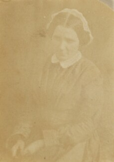 Ellen (a servant), by Unknown photographer - NPG P1273(28e)