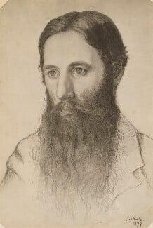 Peter Laskarides, probably by Marie Stillman (née Spartali), possibly by  Lisa Stillman - NPG P1273(29a)