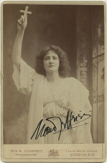 Maud Jeffries as Mercia in 'The Sign of the Cross', by W. & D. Downey - NPG x18862