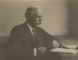 Sir Archibald Edward Garrod, possibly by Edward Cahen - NPG x9502