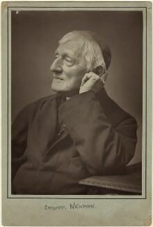 John Newman, by Herbert Rose Barraud - NPG x21519
