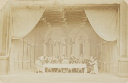 'The Last Supper' (Scene from Oberammergau Passion Play), by Unknown photographer - NPG P1273(32a)